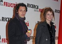Fabio Troiano and Violante Placido at the premiere of