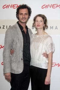 Fabio Troiano and Alba Caterina Rohrwacher at the photocall of