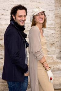 Fabio Troiano and Anna Foglietta at the photocall of