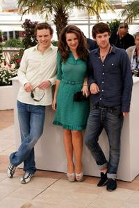 Michael Fassbender, Kierston Wareing and Harry Treadaway at the 62nd International Cannes Film Festival.