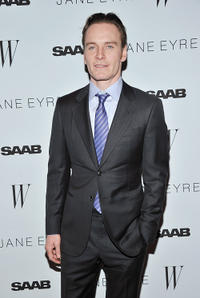 Michael Fassbender at the New York premiere of