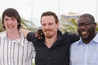 Brian Milligan, Michael Fassbender and Director Steve McQueen at the photocall of