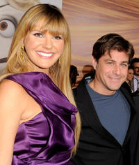 Singer Grace Potter and Glenn Slater at the California premiere of