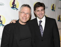 Alan Menken and Glenn Slater at the after party of the opening night of