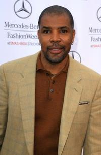 Eriq La Salle at the Mercedes Benz Fashion Week.