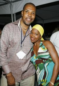Eriq La Salle and Regina King at the second night of Bermuda Music Festival.