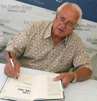 Tommy Lasorda at the 13th annual Los Angeles Times Festival of Books.