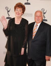 Nancy Bea and Tommy Lasorda at the 60th Annual Los Angeles Area Emmy Awards.