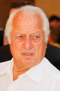 Tommy Lasorda at the special star ceremony.