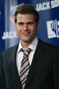 Nick Zano at the Rock The Vote event.