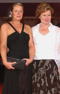 Heather Craney and Imelda Staunton at the premiere of
