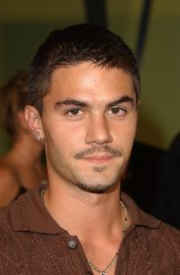Adam LaVorgna at the WB Network's 2002 Summer Party.