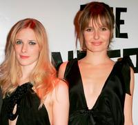Shauna MacDonald and Saskia Mulder at the British Independent Film Awards.