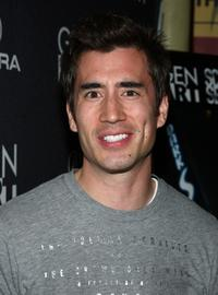 Andrew Roach at the premiere of