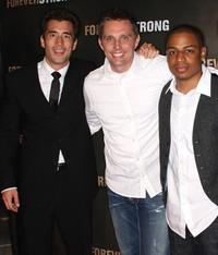 Andrew Roach, Ryan Little and C. Gerald at the Los Angeles screening of