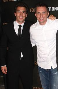 Andrew Roach and Ryan Little at the Los Angeles screening of