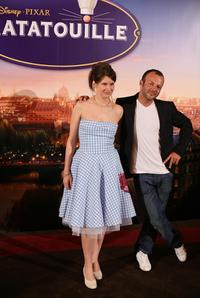 Camille and Pierre-Francois Martin-Laval at the International premiere of