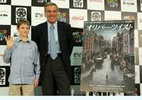 Barney Clark and producer Robert Benmussa at the promotion of