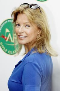Cheryl Ladd at the start of the AFI Golf Classic.