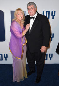 Diane Ladd and Robert Charles Hunter at the New York premiere of