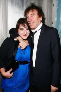 Marilou Berry and Alain Souchon at the Chaumet's Cocktail party and dinner for Cesar's Revelations 2009.