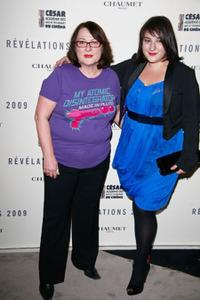 Josiane Balasko and Marilou Berry at the Chaumet's Cocktail party and dinner for Cesar's Revelations 2009.