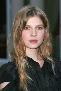 Clemence Poesy at the photocall of