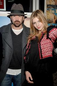 Colin Farrell and Clemence Poesy at the premiere of