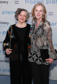 Dana Ivey and Caroline Lagerfelt at the New York premiere of