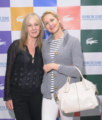 Caroline Lagerfelt and Kelly Rutherford at the East Coast premiere of