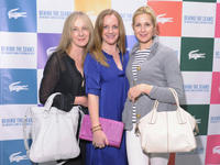 Caroline Lagerfelt, JL Pomeroy and Kelly Rutherford at the East Coast premiere of