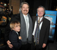 Director John Wells and Tom Kemp at the New York premiere of