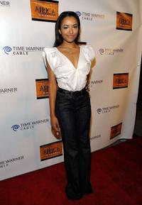 Katerina Graham at the Los Angeles launch of The Africa Channel.