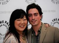 Margaret Cho and Ben Feldman at the Drop Dead Diva: Season One Finale.
