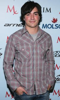 Ben Feldman at the Maxim Magazine X-Games Party.