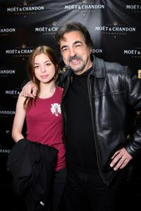Gina Mantegna and Joe Mantegna at the Luxury Lounge in honor of the 2008 SAG Awards.