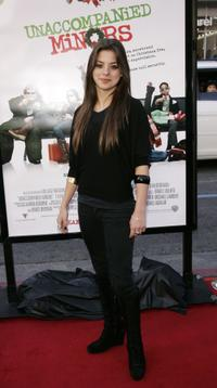 Gina Mantegna at the premiere of