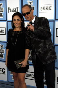 Ricki Lake and John Waters at the 2008 Spirit Awards in Santa Monica.
