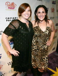 Ricki Lake and Shannon Durig at the after party for the premiere of