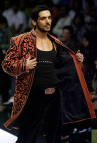 Zayed Khan at the Wills Lifestyle India Fashion Week (WIFW).