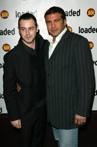 Danny Dyer and Tamer Hassan at the Loaded Magazine's 10th birthday Awards and Party.
