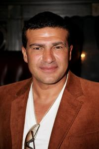 Tamer Hassan at the launch party for the Sanctum Soho Hotel.