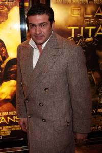 Tamer Hassan at the world premiere of
