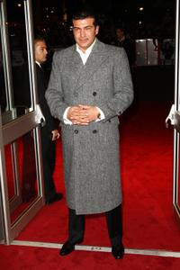 Tamer Hassan at the premiere of
