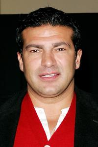 Tamer Hassan at the Sky Movies Pro Celebrity Banger Race to promote