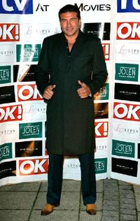 Tamer Hassan at the Movies Launch Party.