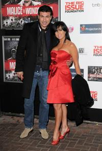 Tamer Hassan and Guest at the UK premiere of