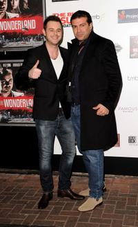 Danny Dyer and Tamer Hassan at the UK premiere of