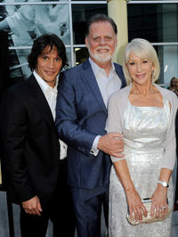 Sergio Peris-Mencheta, director Taylor Hackford and Helen Mirren at the California premiere of