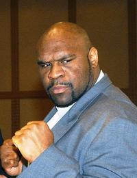 A File photo of Actor Bob Sapp, Dated 06 November 2003.